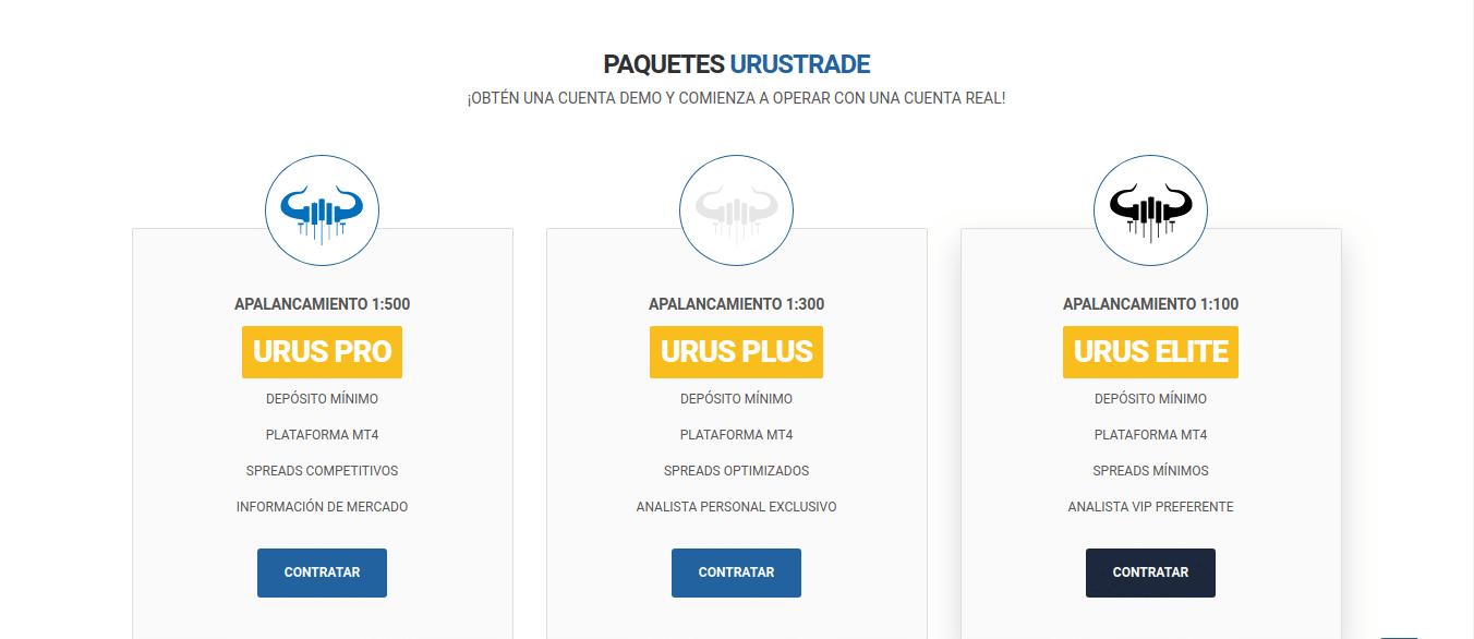 Bròker Urus Trade